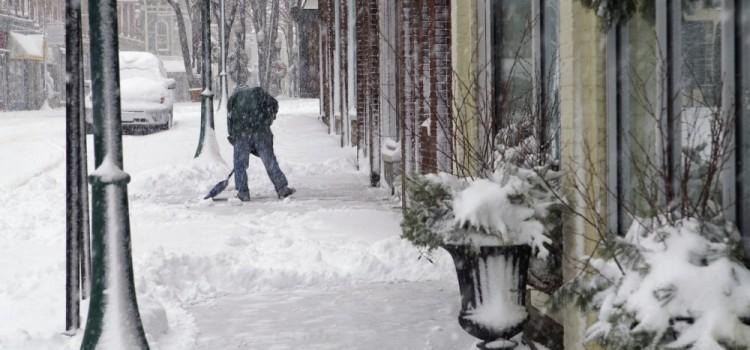 Winter Sidewalk Maintenance